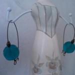 Orecchini perle turchesi