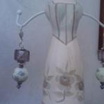 Orecchini perle di ceramica cinese