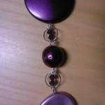 Callana forme lilla, viola e viola scuro - Partico