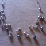 Collana Perle e Cavetto - Particolare