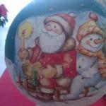 Palla Babbo Natale